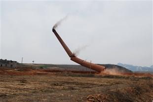 汉南区烟囱拆除(爆破)公司